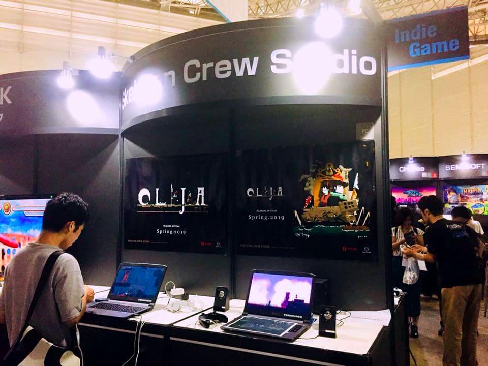 Skeleton Crew Studioのイベントブース